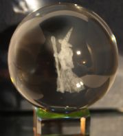 WIZARD LASER CRYSTAL BALL